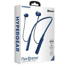 New listing HyperGear Flex Xtreme Wireless Bluetooth Neckband Magnetic Earbud Earphone Sport