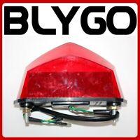 LED Motorcycle Rec Reg Clear Lense Brake Stop Tail Light PIT PRO TRAIL Dirt Bike