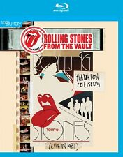 THE ROLLING STONES - FROM THE VAULT-HAMPTON COLISEUM LIVE IN 1981  BLU-RAY NEW+