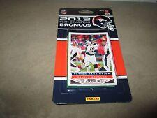 Denver Broncos 2013 Score Factory Sealed Team Set Peyton Manning Miller Welker