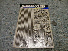 Autographics decals / stickers #701 Stripe Kit black   B16