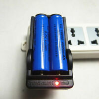 Battery 3.7V Charger Universal For 18650 EU/US Rechargeable Li-ion Dual  2017 LN