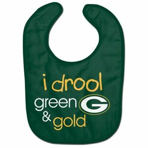 GREEN BAY PACKERS BABY BIB NFL OFFICIALLY LICENSED