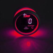 52mm KFZ Digital Öltemperatur Öl Temp Instrument Anzeige Rot LED Beleuchtet