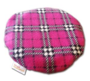 Amazing Health® Allnighter Microwave Heat Pad - 8 hour heat - Pink Check