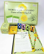 The Worst-Case Scenario Game of Surviving Life Board Game w/ Travel Edition!