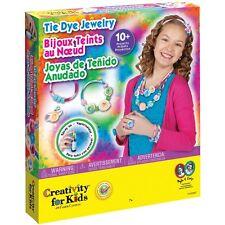 Tie Dye Jewelry Kit Creativity For Kids New bracelet ring necklace tye die art