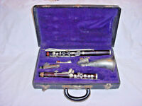 VINTAGE BUFFET CRAMPON ALTO CLARINET WOOD ALTO PARIS FRANCE 1936
