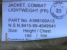 Jacket Combat  (FR),Aircrew ,Gr.190/104, Desert Jacke Heeresflieger,flammhemmend