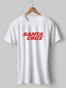 SANTA CRUZ T Shirt MTB Cycling Road bike Mountain Retro NEW Printed