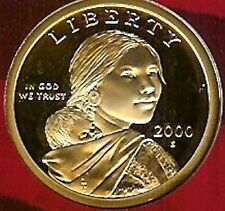 2000 S  SACAGAWEA GEM CAMEO PROOF ONE DOLLAR COIN  kc3