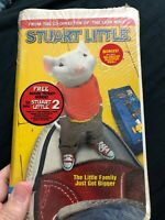 Stuart Little (VHS, 2000, Clamshell Case Closed Captioned)