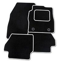 TOYOTA PROACE VAN 2013 ON TAILORED FLOOR CAR MATS CARPET BLACK MAT WHITE TRIM