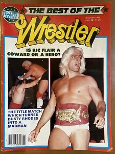 Victory Sports Series The Best Of The Wrestler Magazine Nov 1979 Ric Flair