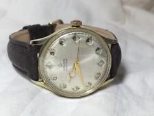 Rare Vintage 1960S Men's Gruen Air Flight Jump Hour Pilot Watch !  FOR REPAIR