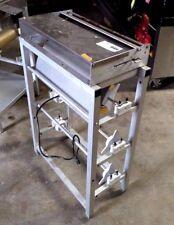 HeatSeal 112A, Overwrapping Machine,Three Roll Dispenser