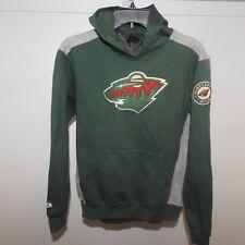 NHL Minnesota Wild Hockey Hooded Sweatshirt New Youth LARGE