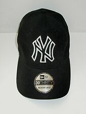 Brand New New Era 39 Thirty New York Yankees Black Baseball cap - Medium / Large
