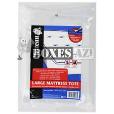 (1) King Mattress Bags/Covers - Thick 4 Mil Heavy Duty - Grip and Carry Tote