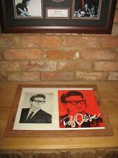 More details for roy orbison lovely 1960's autograph signed program cover photo big o rock n roll