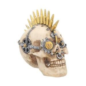Gears Of War Small 17.5cm Skull Figurine Steampunk Art Ornament Sculpture