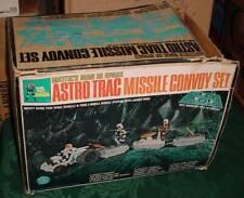 MATTEL MAJOR MATT MASON ASTRO TRAC MISSILE CONVOY SET NEAR COMPLETE MISSING MAT