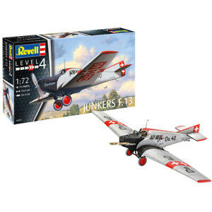 Revell Junkers F.13 Aircraft Model Kit - Scale 1:72 - 03870