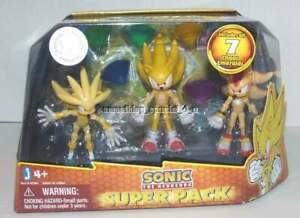 NEW Sonic Super Pack Chaos Emeralds Jazwares 3 Pack