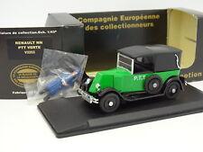 Eligor CEC 1/43 - Renault NN PTT Verde + Figura