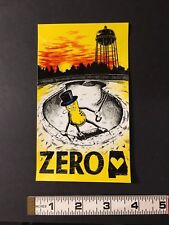 ZERO- GARAGE DAYS JAMIE THOMAS MR PEANUT GRAPHIC STICKER- FROM 2006