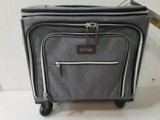 NWT BIAGGI Lift-Off Expandable Underseater Carry-On Luggage - Gray 93116-GYTT