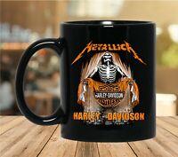 Metallica Harley Davidson Coffee Mug