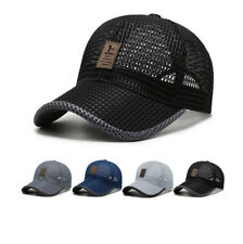 Herren Damen Mesh Baseball Cap Basecap Trucker Kappe Sport Golf Mütze Sommer Hut