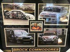 Peter Brock Signed Memorabilia Commodore Frame, Limited Edition out of 499