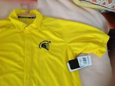 New men's university of Michigan Wolverines lacrosse shirt lar climalite $60
