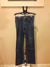 Authentic W&LT Walter Van Beirendonck Lightening Denim Jeans Size 31 Very Rare !