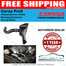 Corsa Pro5 Closed Cold Air Intake System 2015-2016-2017 Mustang EcoBoost 419323