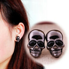 Punk Women's Skull Stud Earring Chic Girl's Skull Earring Ear Stud Gift TO