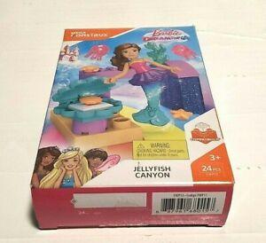 Barbie Dreamtopia FWP13  Jellyfish Canyon Mega Construx Mega Bloks 24Pc