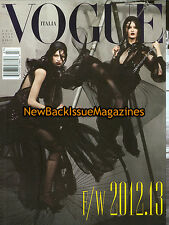 Italian Vogue 7/12,Vanessa Axente,July 2012,NEW