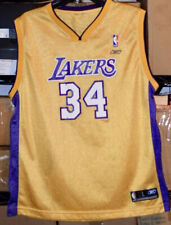 SHAQUILLE Shaq O'NEAL Los Angeles LAKERS Replica REEBOK Youth LARGE Jersey NBA