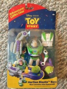 Disney Adventure Collection Toy Story And Beyond MARTIAN BLASTIN BUZZ Brand New