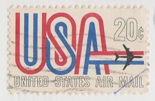 (UST-275) 1968 USA 20c USA air Mail (H)