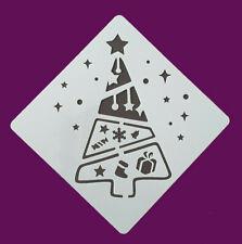 Schablonen Weihnachten Stencil DIY Basteln für Schneespray,Torten,Stoffe,uvm.
