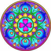 Shakti Dancing Window Sticker Decoration Glass Artwork