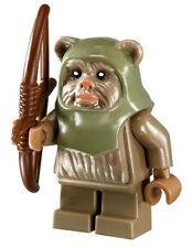 NEW LEGO STAR WARS EWOK WARRIOR MINIFIG figure minifigure 10236 EWOK VILLAGE