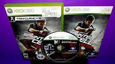 Tom Clancy's Splinter Cell: Conviction (Microsoft Xbox 360, 2010) Complete B541
