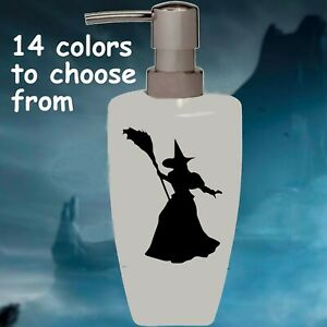 Wicked Witch Soap Lotion Pump dispenser Halloween Bathroom Kitchen Decoration