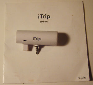 Griffin iTrip for Apple iPod FM Transmitter PAV4014TRIP with manual