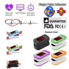 FDA CE OLED Oximeter Pulse Finger Oximetro De Pulso Oxymeter W/ SPO2 PR PI Mv